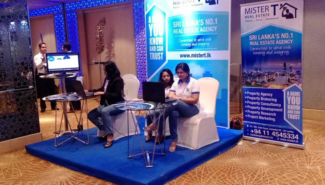 Mister T Shines At The Lanka Property Show!