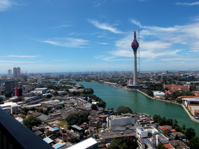 An Amazing View of Colombo's Skyline from Onthree20
